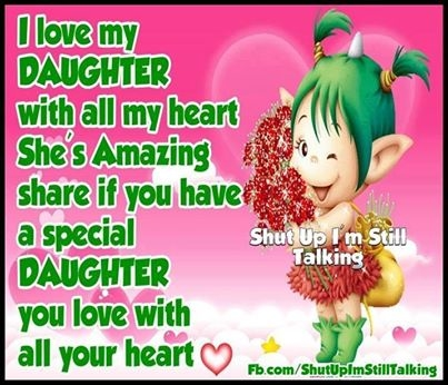 I love my daughter image